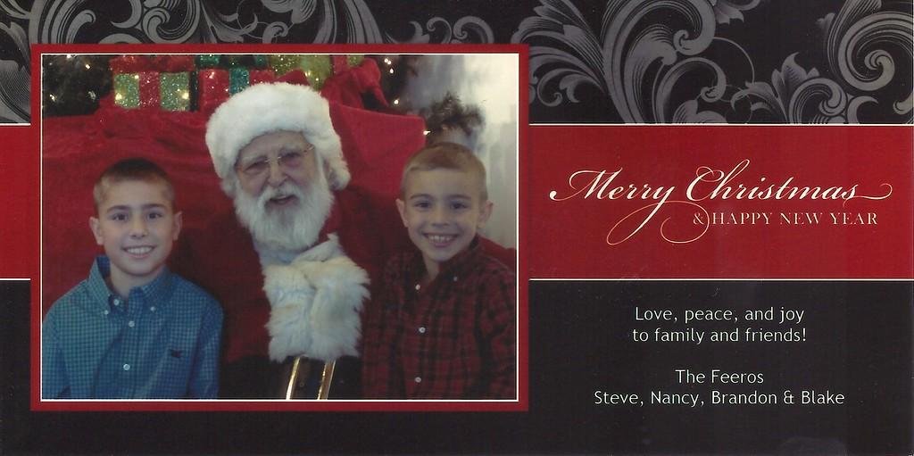 Brandon, Blake, Christmas, 2012