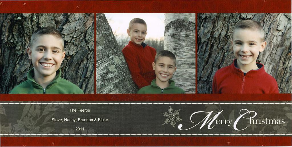 Brandon, Blake, Christmas, 2011